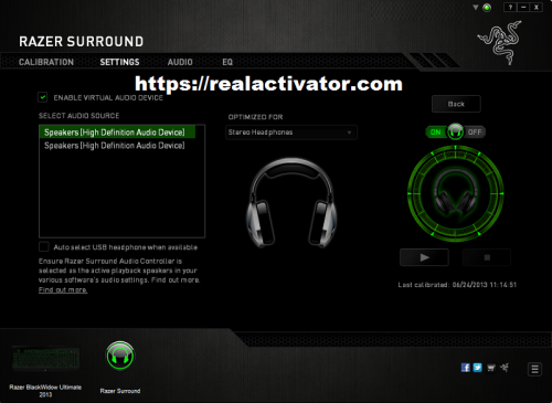 RAZER SURROUND TÉLÉCHARGER